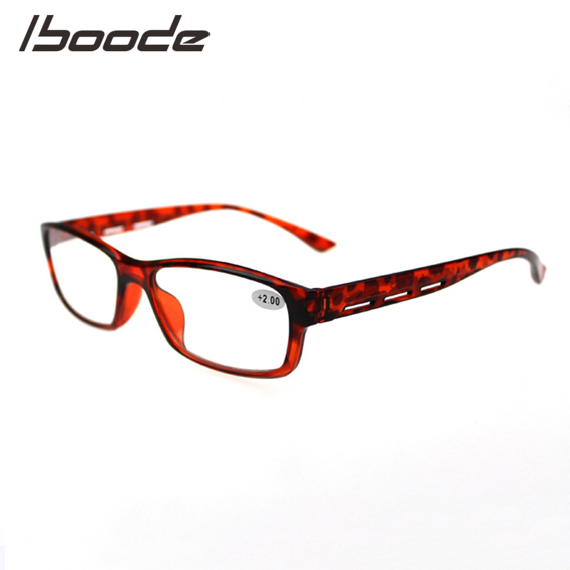 IBOODE Square Reading Glasses Women Men Presbyopic Eyeglasses Female Male Hyperopia Eyewear Unisex Magnifying Optics Spectacles