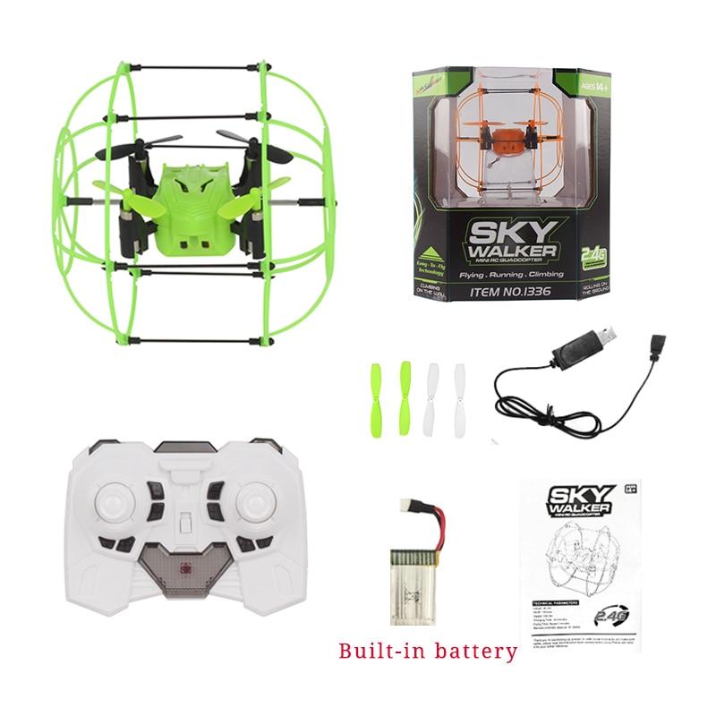 Mini Drone Ball Helic Max Sky Walker 1336 2,4 GHz 4CH Fly Golyó RC - Távirányítós játékok