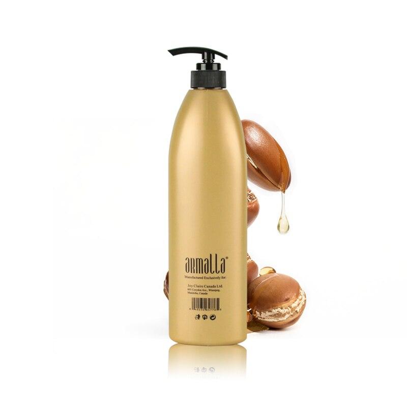 Купить с кэшбэком Armalla Moroccan Argan Oil 1000ml Professional Natural Dry Hair Shampoo Treatment Moisturizing Damage Product