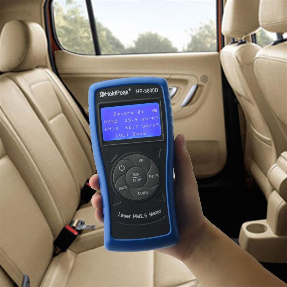 PM2.5 Monitor Con Retroilluminazione Spegnimento automatico Per Interni Esterni Rivelatore Test Ambientali Il Più Preciso