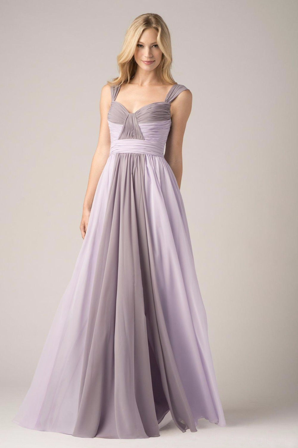Popular silver bridesmaid dress buy cheap silver for Silver and purple wedding dresses