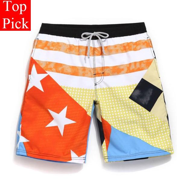 TOPPICK Men's Swimming Trunks For Bathing  Plus Size Swimwear Men 2017 New Board Shorts Beach Boxers Mens Jogger Shorts YK52