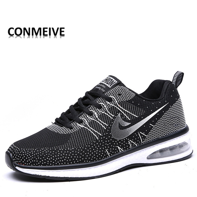 2018 Couple Running Shoes Breathable Handmade Shoes Flywire Male Female  Shoe jogging Pantufa Unicornio tn Chaussure