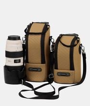 Nylon imperméable Camera Lens Cover sacs anti – collision anti – choc anti – poussière sac photo pour Canon Nikon Camera Lens sac de rangement