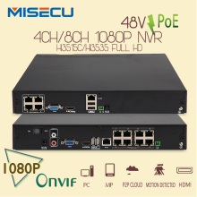 Hot 48V Real POE 1080P 4CH/8CH Onvif NVR Network Video Recorder 3MP FULL HD 1080P IP POE Camera PoE 48V 802.3af ONVIF 2.0 XMEYE
