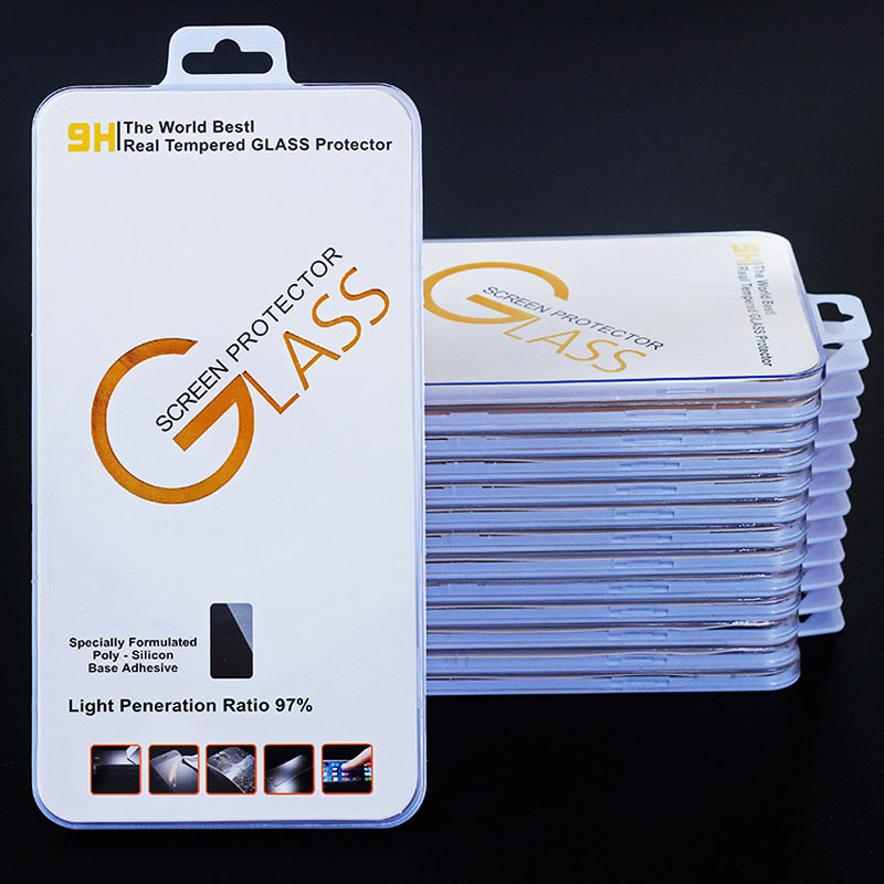 10pcs/lot Mobile Phone Tempered Glass Screen Protector 9H 2.5D Film Display For