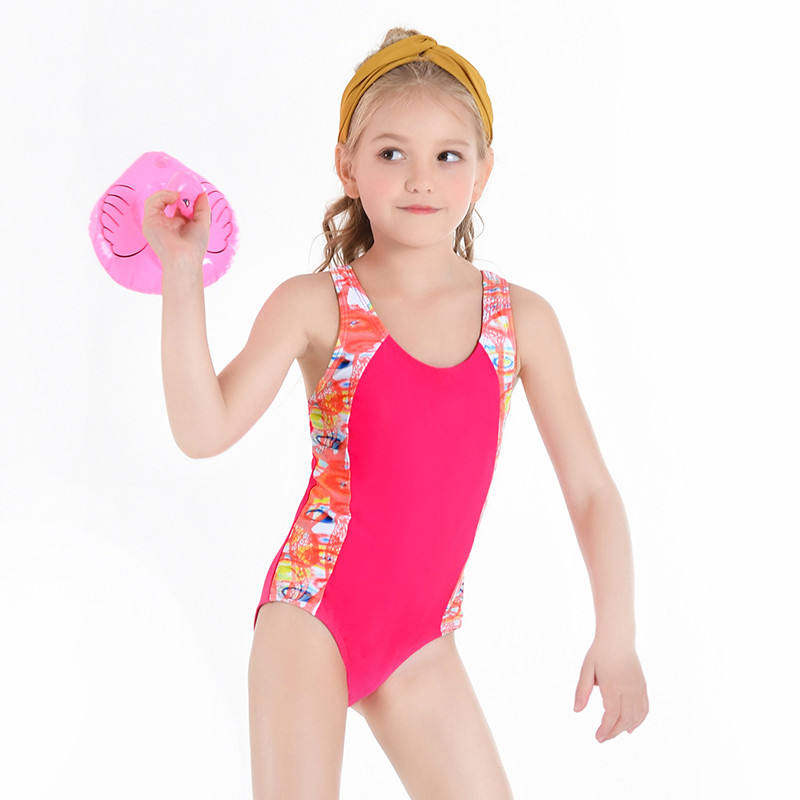 One-piece Swimming Suit Swimwear Swimsuit Bathing Suit Beachwear for Baby Girls