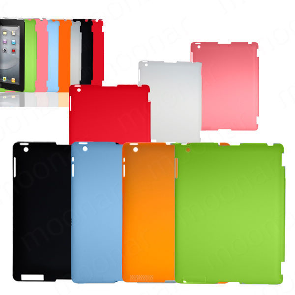 1 PC Slim Back Case Suits Smart Cover Partner for iPad 2 3 Multi-Color Free Shipping XDA0005