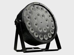 Image 3 - 8 조각/24x12w RGBW 4 in 1 Led 파 조명 풀 컬러 Led 플랫 파 빛 DMX512 Dj 워시 램프