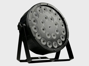 Image 3 - 8 adet/24x12w RGBW 4 in 1 Led Par ışıkları tam renkli Led düz Par ışık DMX512 Dj yıkama lambası