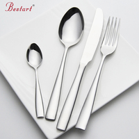 Conjunto de talheres aço inoxidável 24 peças serviço 6 pessoa prata faca garfo conjunto restaurante talheres louça china conjuntos|knife fork set|china set|fork set -