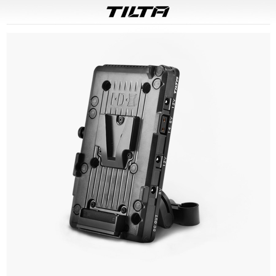 Tilta BT-003 DSLR V mount V-LOCK/Anton Mount système d'alimentation de plaque de batterie adaptateur de tige de 15mm pour DSLR 5D2 5D3 A73 GH4 GH5