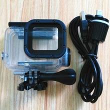 스포츠 카메라 액세서리 Gopro Hero 7 6 5 충전 용 방수 케이스 Black Charger shell Housing + Motocycle 용 USB 케이블