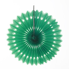 10inch=25cm 8pcs/lot Hanging Apple Green Eyelet Tissue Paper Fans Wedding Pinwheel Decorations Party Photo Backdrop Favors