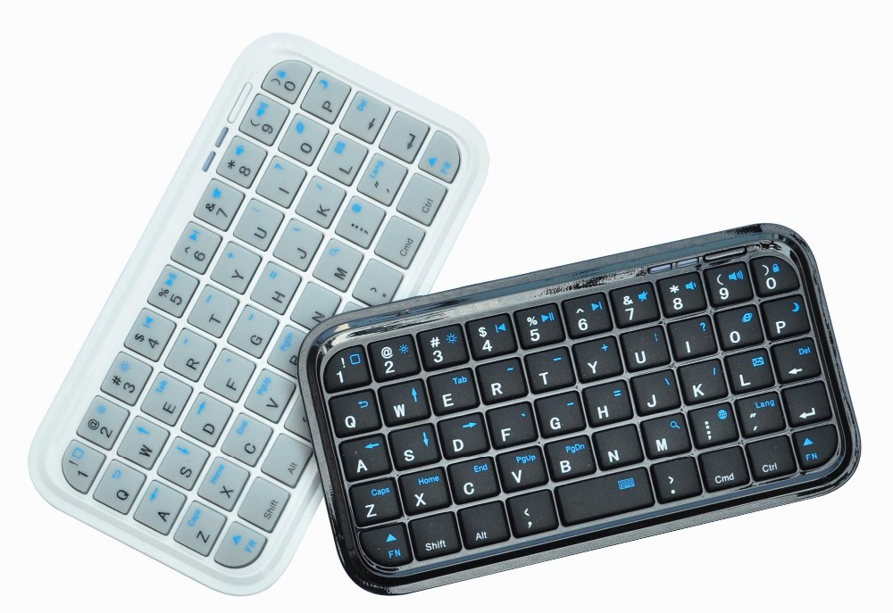 Portable Handheld Bluetooth Mini Wireless Keyboard For Apple TV 4 Remote Control Smartphone Amazon Fire TV Android TV Box