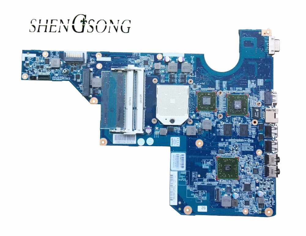 Free Shipping Notebook mainboard 610160-001 for HP G62 laptop motherboard 100% tested well цена