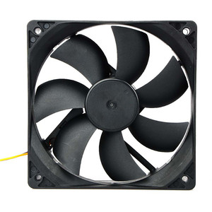 Image 2 - Hot Sale 120x25mm 120mm Fan 12V DC Brushless PC Computer Case Cooler 3Pin Connector Cooling Fan For CPU Radiating For Desktop PC