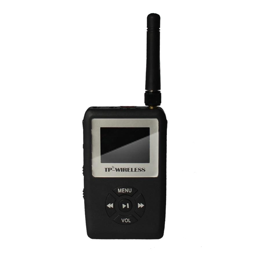TP-Wireless UHF-Übertragung HDCD-Audio Tour Guide - Tragbares Audio und Video - Foto 3