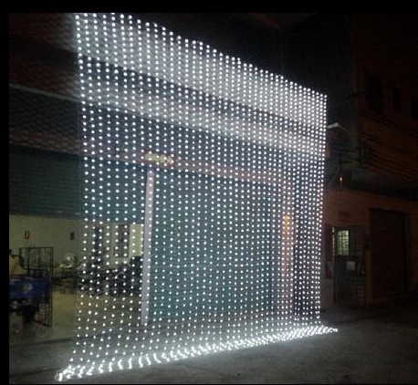 Large Size 10m X 5m 1600 Led Lights Garden Light Curtain