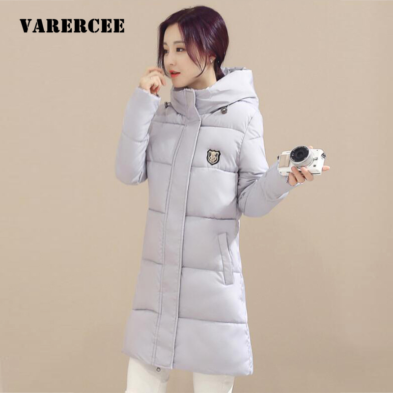 Woman Parka Winter Women Jacket Coat With cotton Warm Thick hooded Women Coat High Quality Long parka 2016 New Winter Collection 2017 women winter cotton jacket long women coat thick hooded collor female warm clothes parka high quality cotton coats qh0377