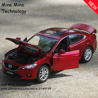 1 32 Free Shipping Mazda ATENZA Alloy Diecast Car Model Pull Back Toy Car Model Electronic