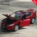 1:32 бесплатная доставка Mazda ATENZA Сплава Литья Под Давлением Модели Автомобиля Тянуть назад Автомобиль Игрушки модели Электронных Автомобиль классический автомобиль Дети Toys подарок