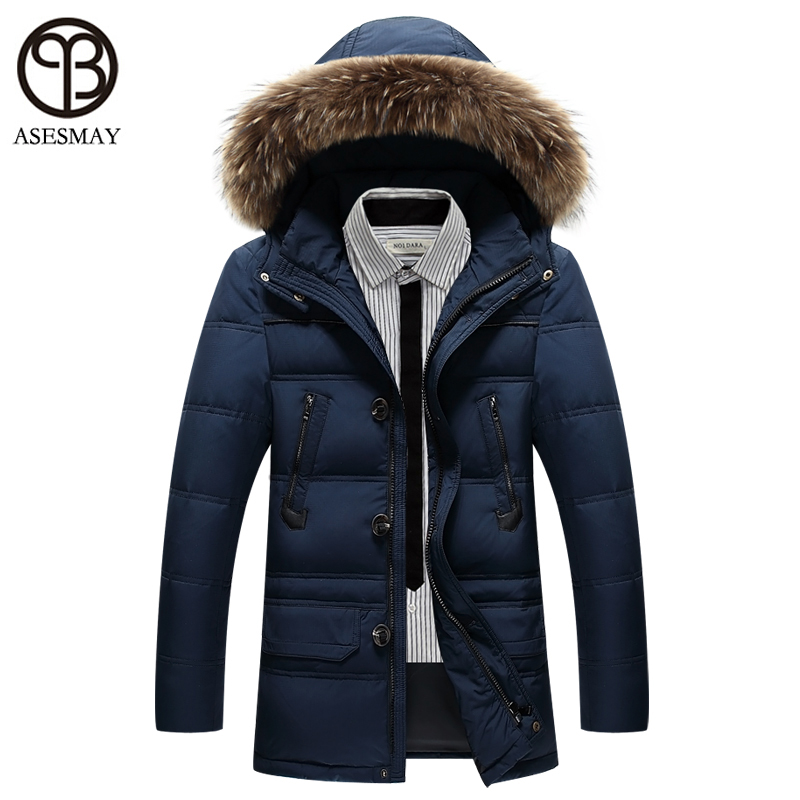 Wintermantel Daunenmantel Marke Asesmay 2016 Kleidung Männer 3qRc54AjL
