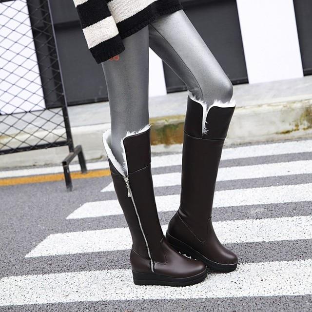 7f2db1daa2a bottes bottine femmes 2017 winter australia platform military botas mujer  zapatos mujer boots women shoes masculina 2017