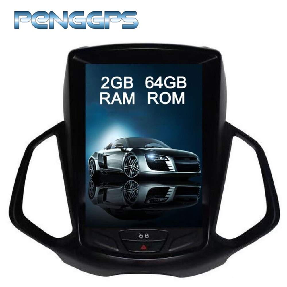 """10.4 """"IPS スクリーンアンドロイド車 CD DVD フォード Ecosport 2013 + Gps ナビゲーション 1024 × 600 HD 1080 P ビデオ 2 Din ラジオヘッドユニット  グループ上の 自動車 &バイク からの 車用マルチメディアプレーヤー の中 1"""