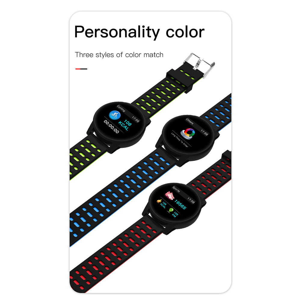 Sports Monitoring Smart BraceletFashion Mountaineering Cycling Heart Rate  Blood Pressure Detection Sports Watch