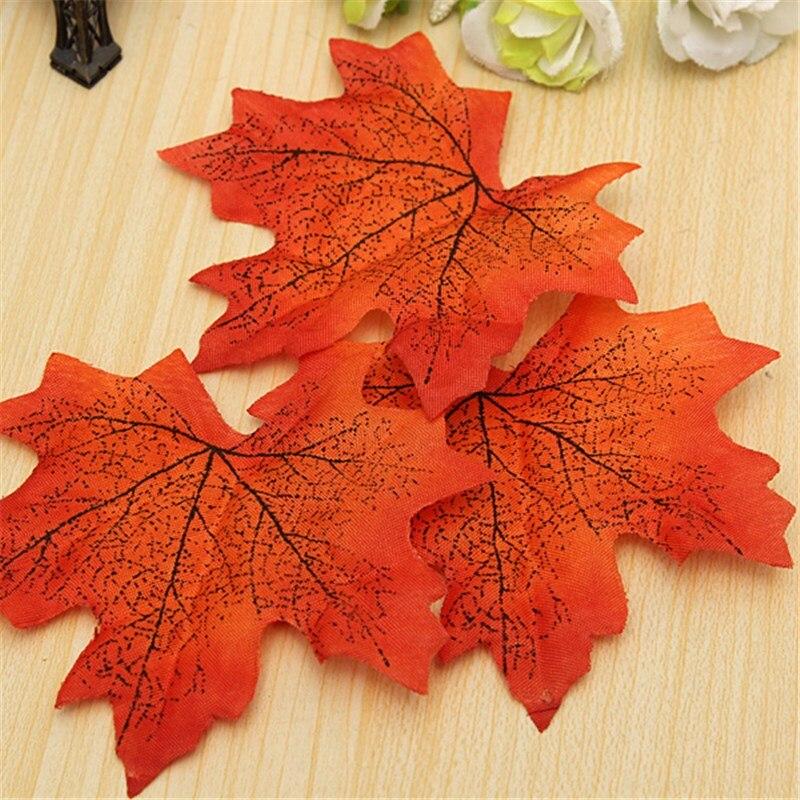 moderne merveilleux 50 pcs drable feuilles dautomne de dcoration de mariage dcor - Bon De Reduction Decoration De Mariage
