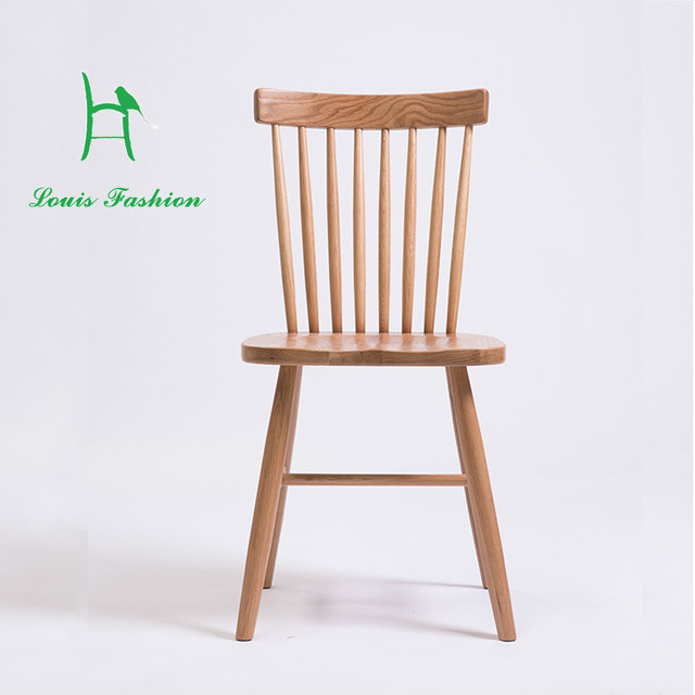 Oak Windsor Chairs Kids Spa Chair Build A Wooden Zomo All Solid Wood Dining White Pure Furniture Eat Desk And