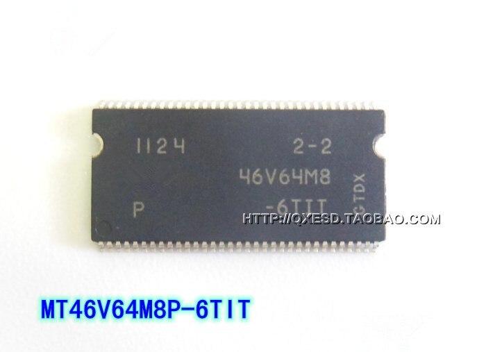 Free Shipping 50pcs lot MT46V64M8P 6TIT MT46V64M8P MT46V64M8 46V64M8 SOP 100 NEW Goods in stock