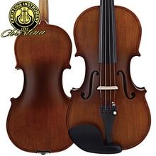 Profesional italia christina v01 violín antiguo violín del arce 4/4 violino stradivari 3/4 hecho a mano de instrumentos musicales y caja, arco