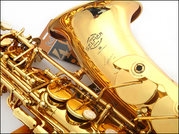 New Sales High quality France Selmer 54  E-flat alto Saxophone Top  Alto sax and accessories Playing Musical free shipping tenor saxophone free shipping selmer instrument saxophone wire drawing bronze copper 54 professional b mouthpiece sax saxophone