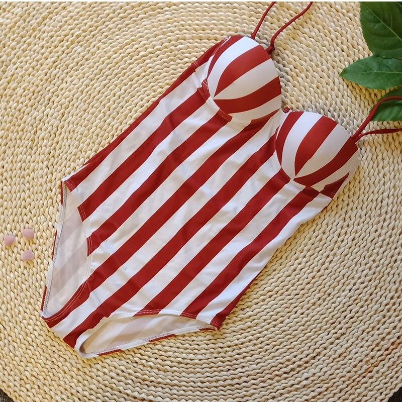 Buy Cheap Backless Sexy Bathing Suit Women One Piece Swimsuit Female Padded Bather Ladies Swimwear Cut Swim Suit Beachwear  2018