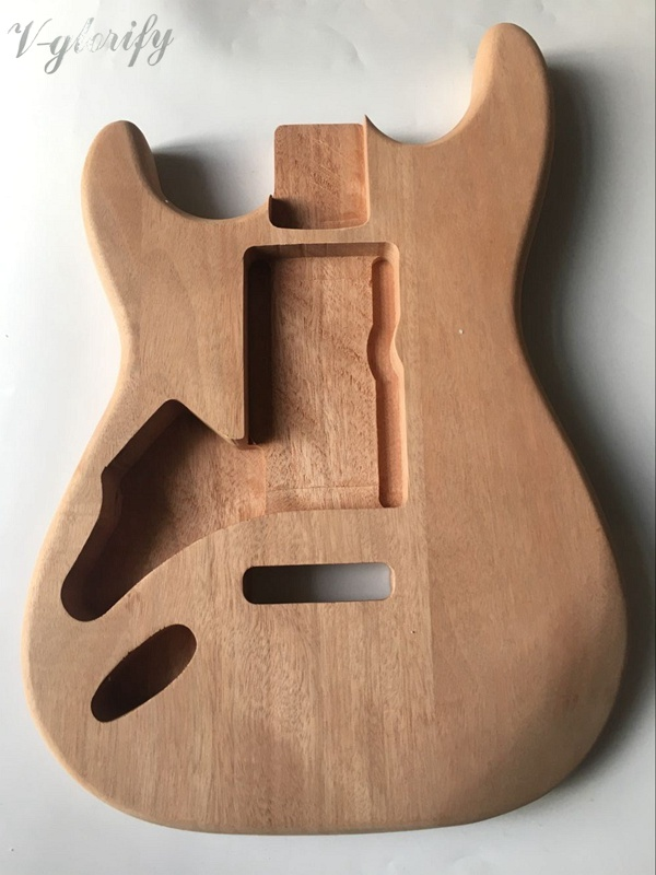 left hand ST electric guitar body mahogany wood human free shipping guitar electric guitar suitcase electric guitar hollow body guitar left hand