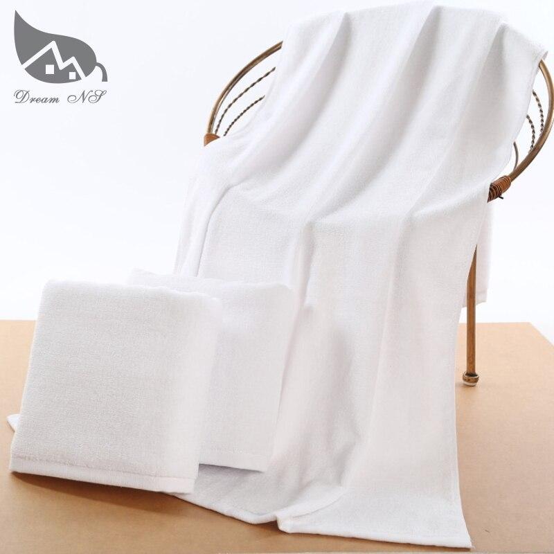Serviettes de bain grand serviettes grandes serviettes de bain coton adulte épais SPA hôtel beauté cadeaux absorbant serviettes blanches et bleu orange