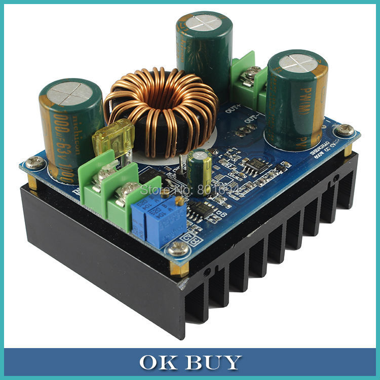 DC-DC 600W High Power Constant Current Constant Voltage Boost Converter 12V~60V/9V~16V To 12-80V Step-up Module