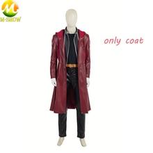 จัดส่งฟรีอะนิเมะ Fullmetal Alchem ist คอสเพลย์เครื่องแต่งกาย Edward Elric คอสเพลย์ฮาโลวีน Trench Coat Top กางเกง Custom Made