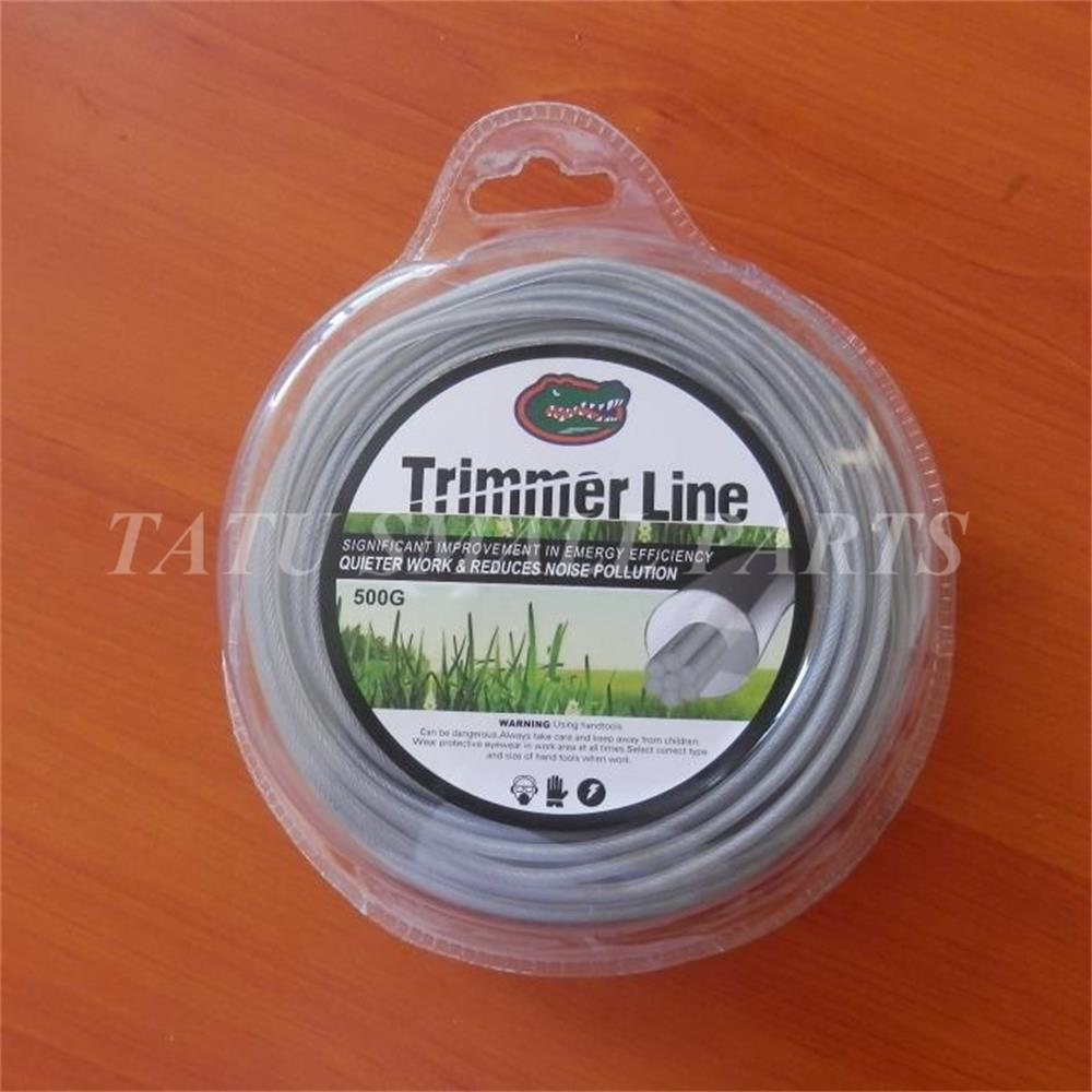 Ligne de coupe en acier fil GARSS 2.65 MM X 450G 1LB X 60 M X corde DONNUT STRIMMER débroussailleuse BLISTER PACK corde ligne de coupe