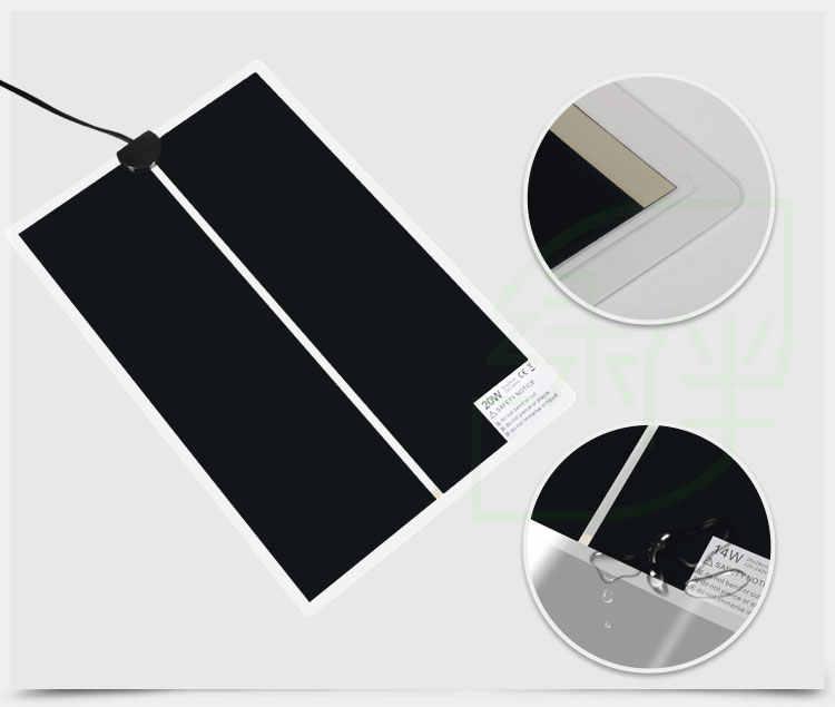 5W ~ 35W 220V теплый коврик для кровати, коврик-амфибия с регулируемой температурой, нагреватель для животных рептилий, водонепроницаемый