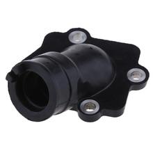 1 Pcs Motorfiets Carburateur Air Joint Boot Interface Adapter Connector Pijp Spruitstuk Voor Yamaha 50/90cc 2 Takt motor