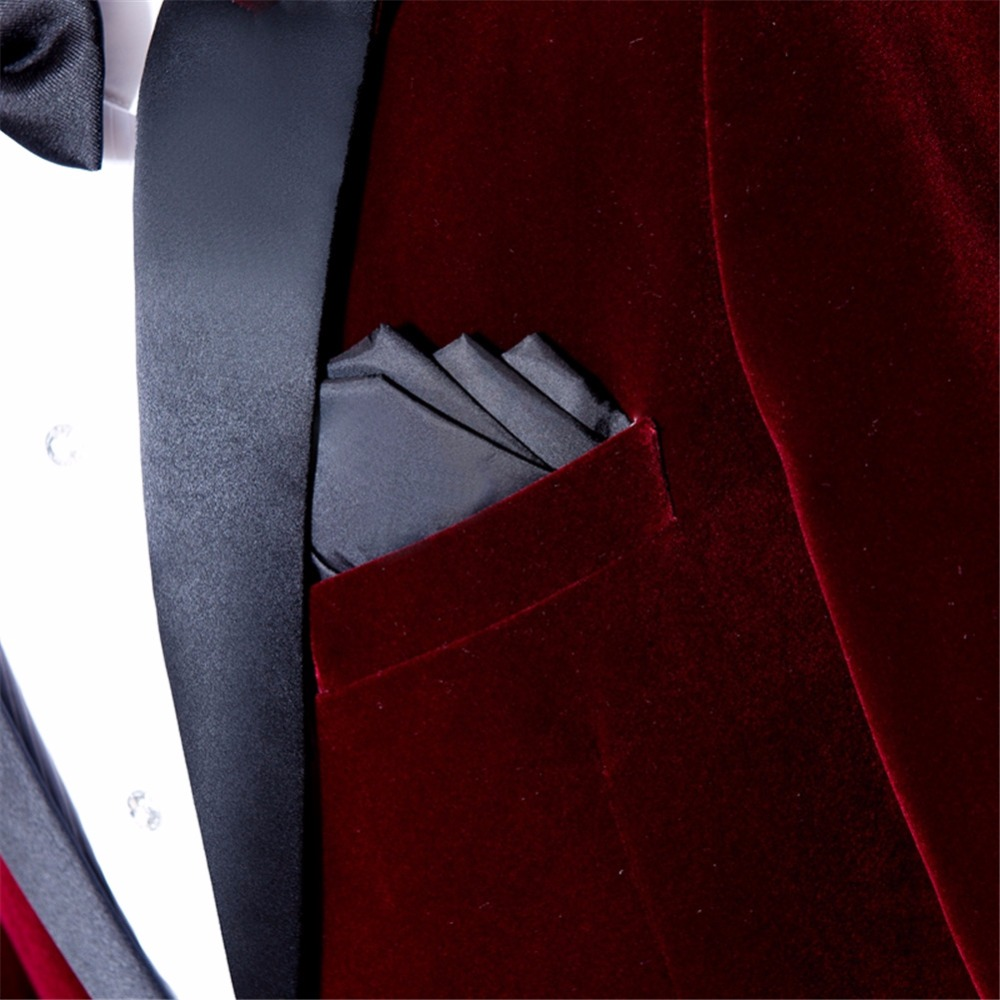 Suit velvet blazer (15)