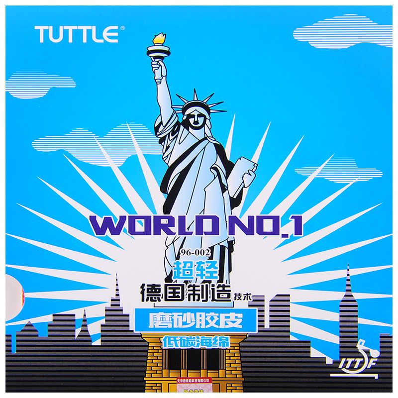 Original Tuttle World No.1 frosting rubber sheet Table Tennis rubber, ping pong rubber Free shipping