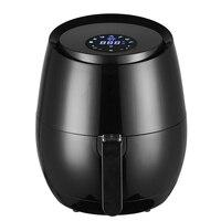 Friteuse à Air électrique multifonction 1400W, 5,2 l, sans huile, appareil sanitaire, tactile LCD, intelligent 2