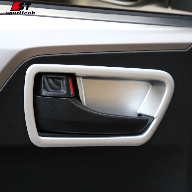 ộ_ộ ༽Car styling puerta interior cubierta de la manija para Toyota ...