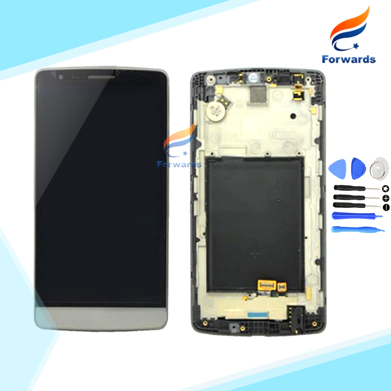 ФОТО  for LG Optimus G3 mini D722 D724 Lcd Screen Display with Touch Digitizer Frame + Tools Assembly 1