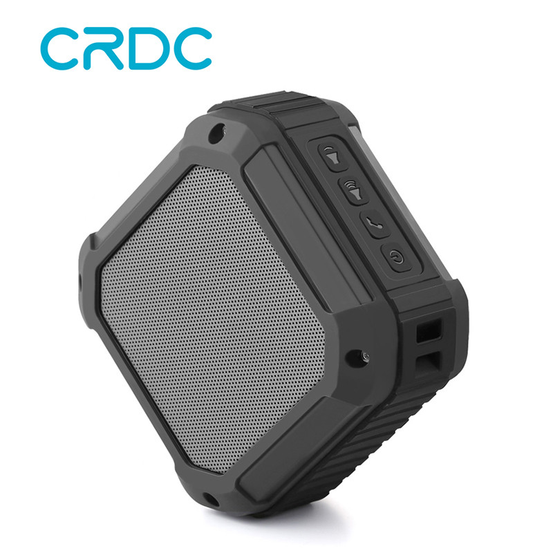 CRDC Bluetooth Speaker Subwoofer Powerful IP65 Waterproof Mini Portable player Wireless Music Speakers for the computer phone