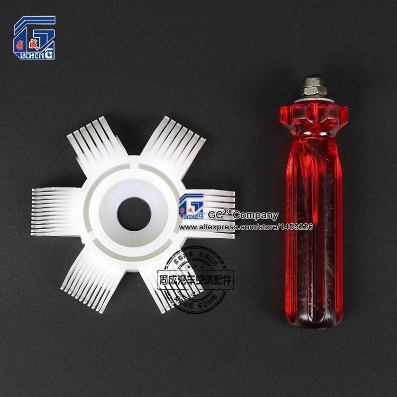 A C Ac Radiator Condenser Evaporator Fin Straightener Coil